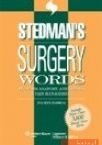 Okładka książki Stedman's Surgery Words 4e