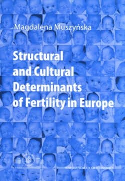 Okładka książki Structural and cultural determinants of fertility in Europe