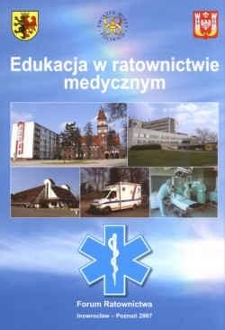 Okładka książki Edukacja w ratownictwie medycznym