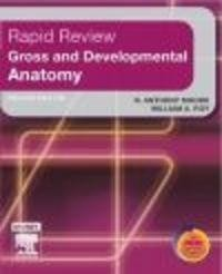 Okładka książki Rapid Review Gross and Developmental Anatomy 2e