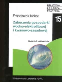 Okładka książki zaburzenia gospodarki wodno-elektrolitowej i kwasowo-zasadowej