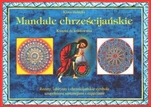 Okładka książki Mandale chrześcijańskie. Książka do kolorowania