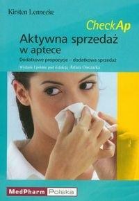 Okładka książki Aktywna sprzedaż w aptece