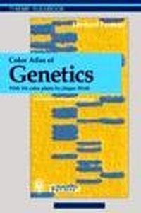 Okładka książki Color Atlas of Genetics