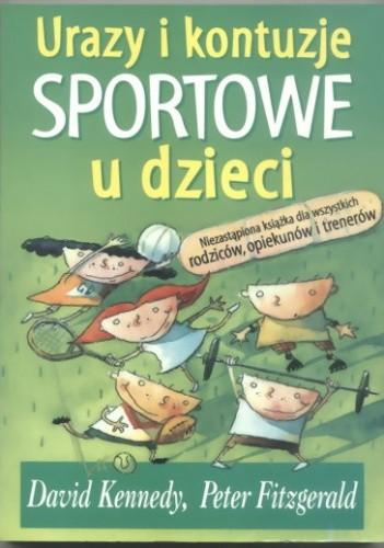 Okładka książki Urazy i kontuzje sportowe u dzieci