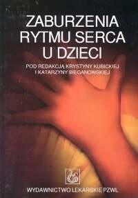 Okładka książki Zaburzenia rytmu serca u dzieci