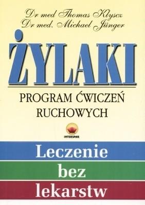 Okładka książki Żylaki. Program ćwiczeń ruchowych