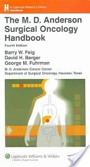 Okładka książki The M.D. Anderson Surgical Oncology Handbook