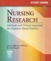 Okładka książki Study Guide for Nursing Research