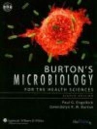 Okładka książki Burton's Microbiology for the Health Sciences
