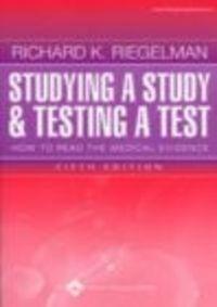 Okładka książki Studying a Study and Testing