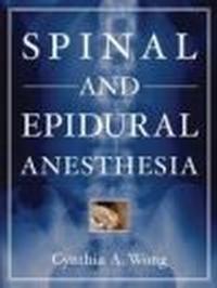 Okładka książki Spinal & Epidural Anesthesia