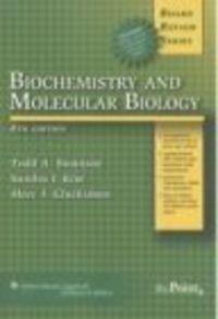 Okładka książki BRS Biochemistry Genetics & Molecular Biology