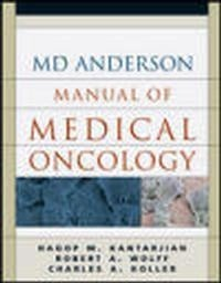 Okładka książki MD Anderson Manual of Clinical Oncology