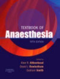 Okładka książki Textbook of Anaesthesia 5e