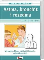 Okładka książki Astma, bronchit i rozedma