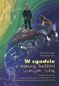 Okładka książki W zgodzie z naturą ludźmi i samym sobą-scenariusze