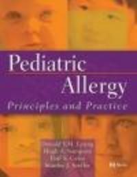 Okładka książki Pediatric Allergy Principles && Practice