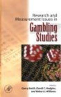 Okładka książki Research and Measurement Issues in Gambling Studies