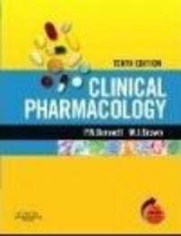 Okładka książki Clinical Pharmacology 10e