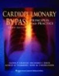 Okładka książki Cardiopulmonary Bypass