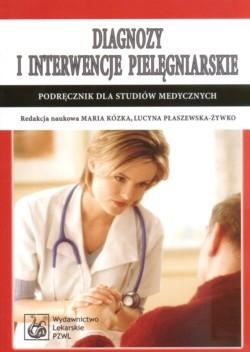 Okładka książki Diagnozy i interwencje pielęgniarskie