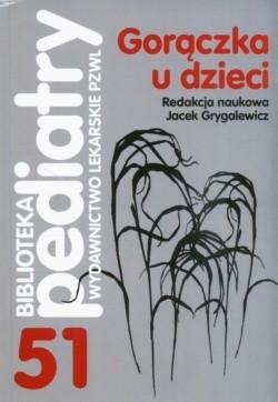 Okładka książki Gorączka u dzieci