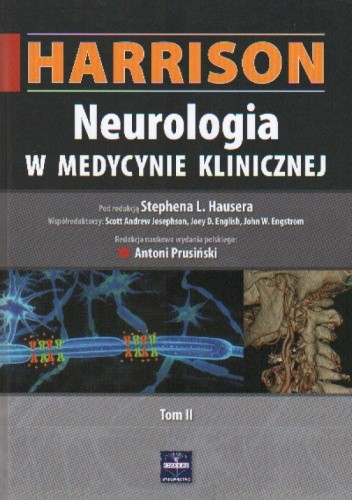 Okładka książki Harrison. Neurologia w medycynie klinicznej. Tom II