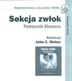 Okładka książki Sekcja zwłok Podręcznik Shearera
