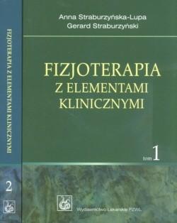 Okładka książki Fizjoterapia z elementami klinicznymi t.1/2