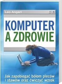 Okładka książki Komputer a zdrowie