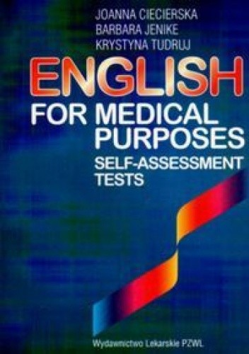 Okładka książki English For Medical Purposes. Self-Assessment Tests