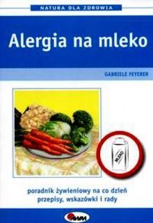 Okładka książki Alergia na mleko