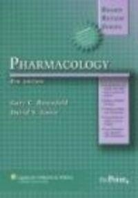 Okładka książki BRS Pharmacology  4e