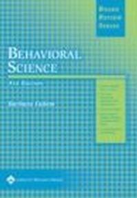 Okładka książki BRS Behavioral Science 4e