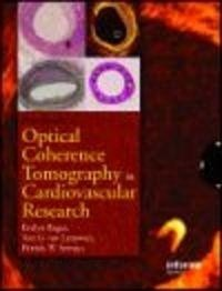 Okładka książki Handbook of Optical Coherence Tomography in Cardiovascular