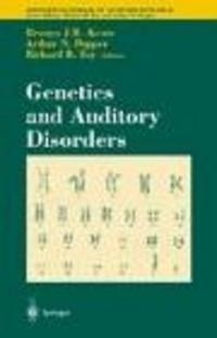 Okładka książki Genetics of Auditory Disorders