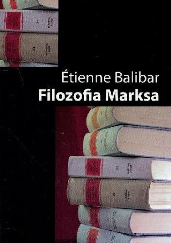 Okładka książki Filozofia Marksa