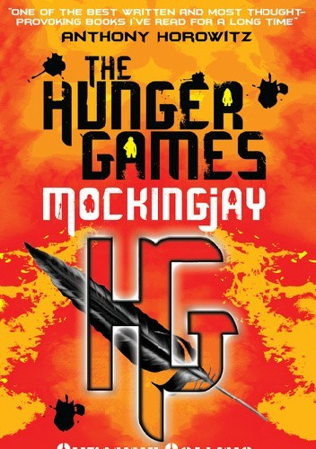 Okładka książki The Hunger Games. Mockingjay