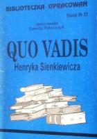 Quo Vadis Henryka Sienkiewicza