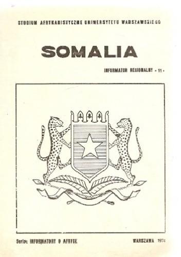 Okładka książki Somalia