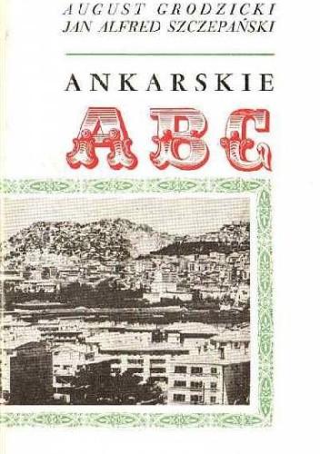Okładka książki Ankarskie ABC