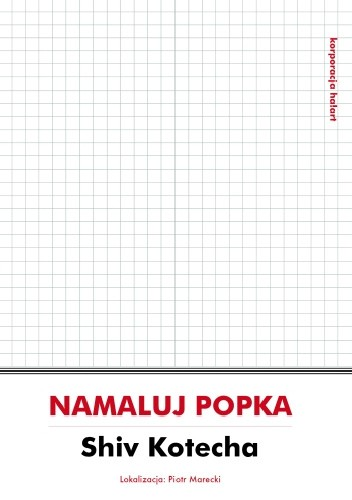 Okładka książki Namaluj Popka