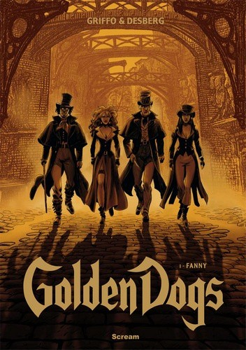 Okładka książki Golden Dogs Tom 1: Fanny