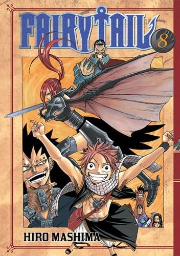 Okładka książki Fairy Tail tom 8