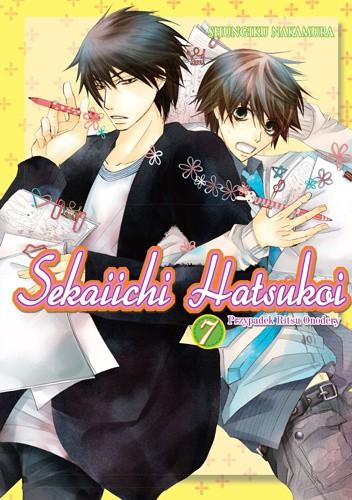 Okładka książki Sekaiichi Hatsukoi. Przypadek Ritsu Onodery 7