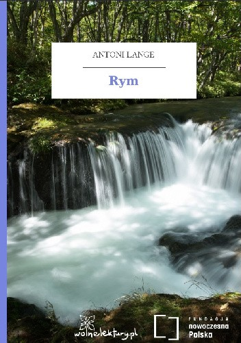 Okładka książki Rym
