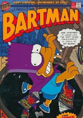 Okładka książki Bartman #1 - The Comic Cover Caper!
