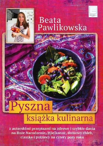 Okładka książki Pyszna książka kucharska