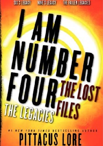 Okładka książki I Am Number Four: The Lost Files: The Legacies